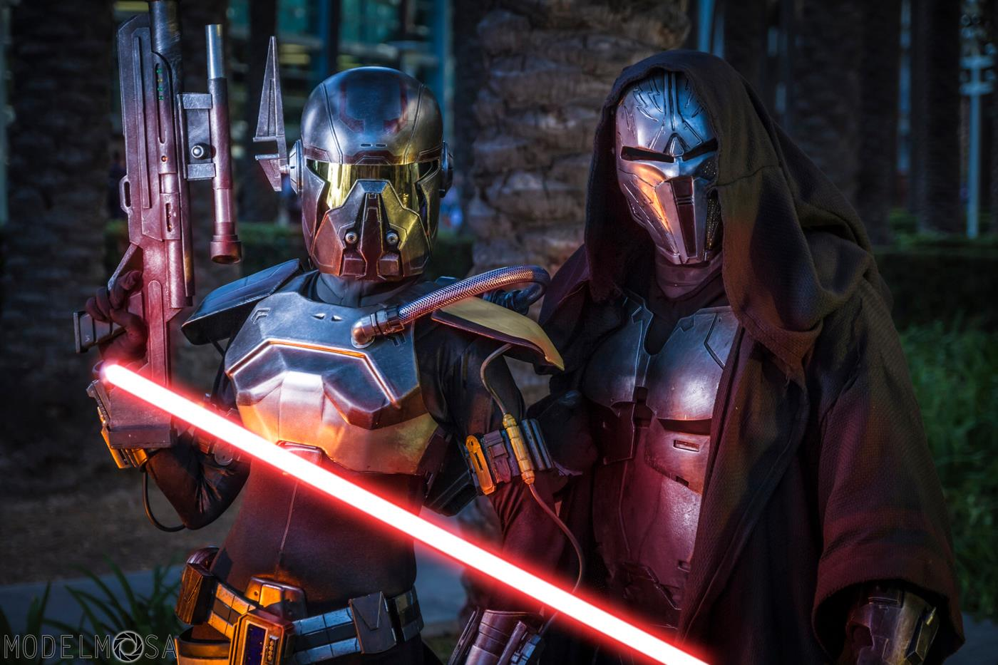 Shae Vizla and Sith Acolyte Costumes