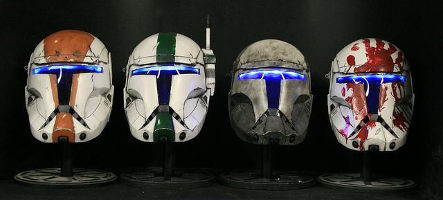 Republic Commando Helmets