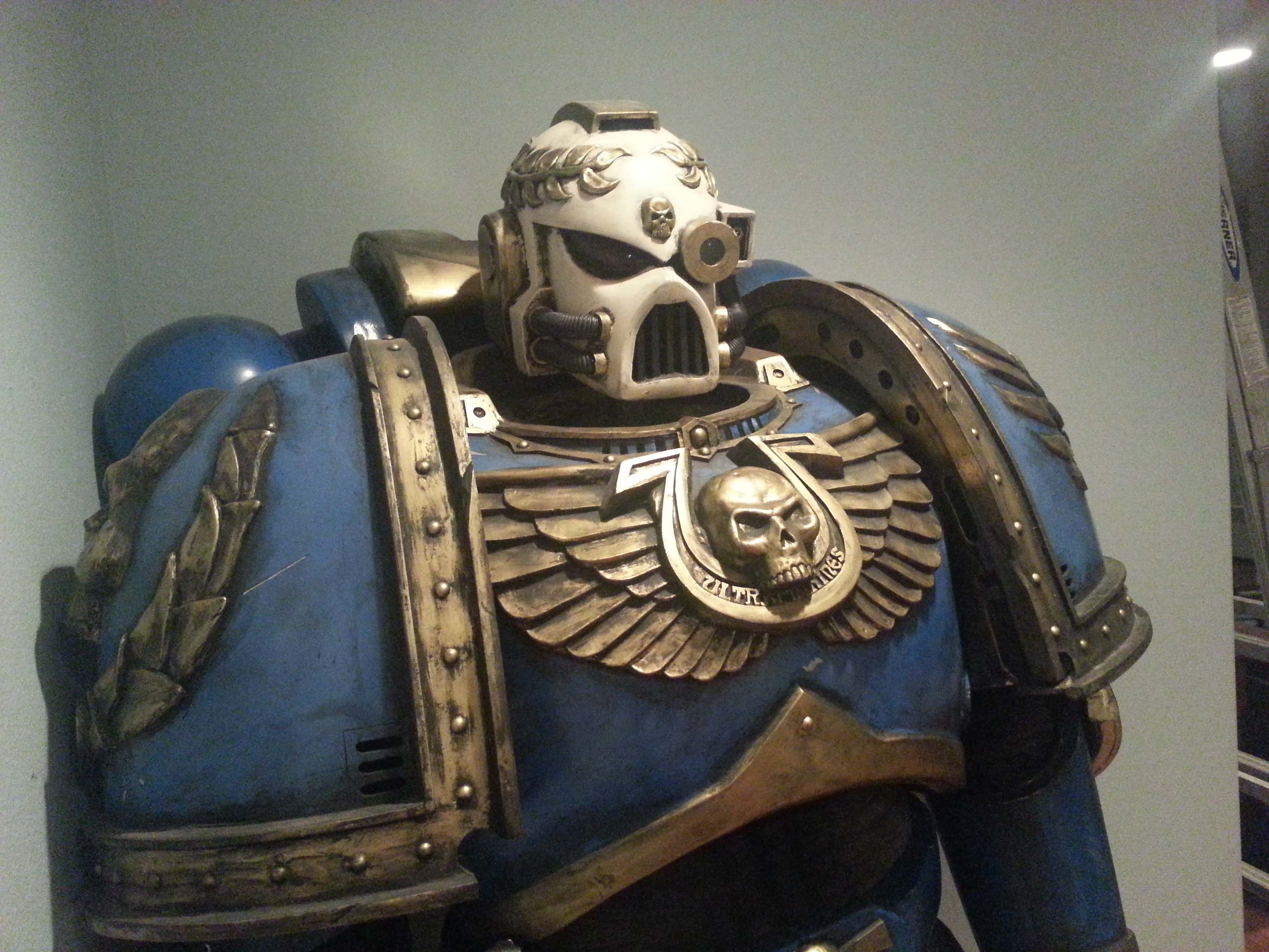 Captain Titus of the Ultramarines