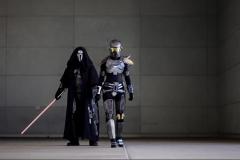 Shae Vizla and Sith Acolyte Costumes